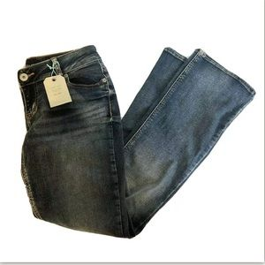 NWT Maurices Slim Boot Medium Wash Jeans Womens